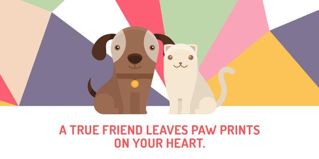 Plantilla de diseño de Citation about a true friend  Image