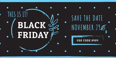 Template di design black Friday poster Image