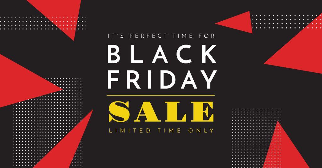 black Friday sale poster — Создать дизайн