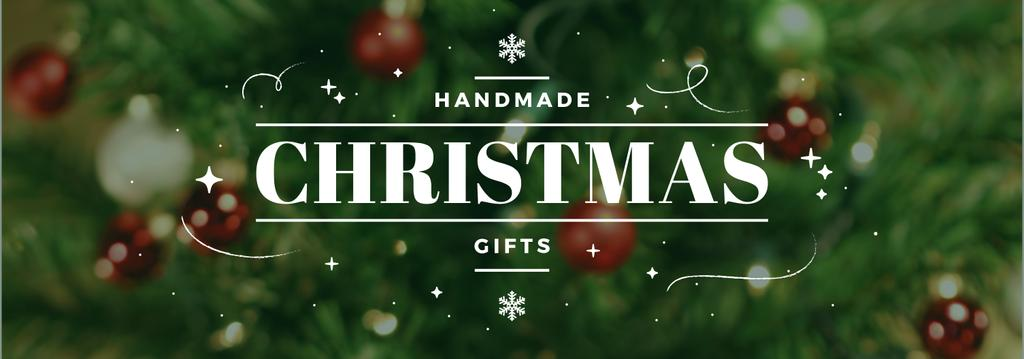 Christmas Gifts Ideas Decorated Tree | Tumblr Banner Template — ein Design erstellen