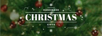 Christmas Gifts Ideas Decorated Tree | Tumblr Banner Template
