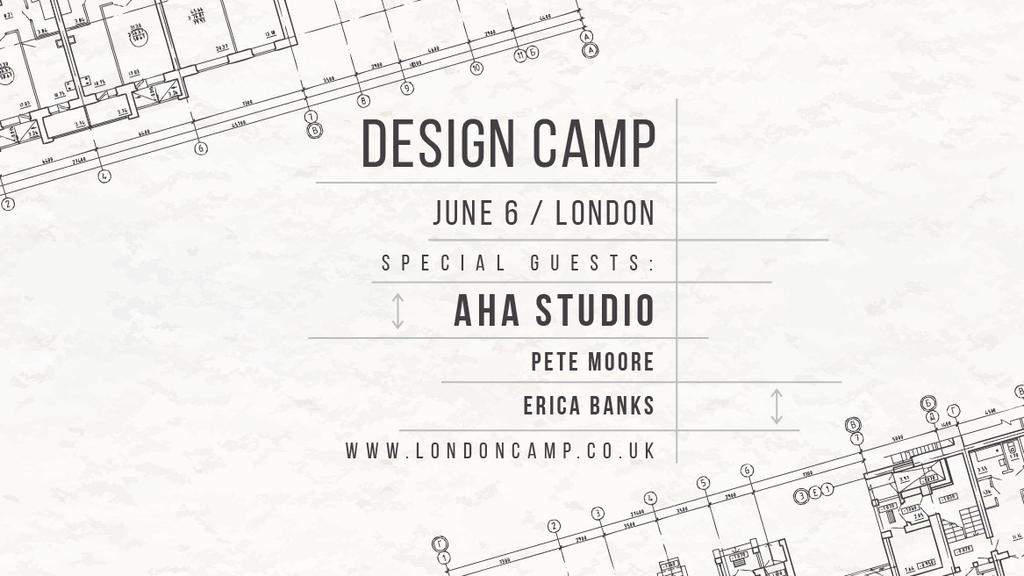 Design camp in London — ein Design erstellen