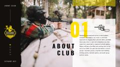 Paintball Club Offer People with Guns