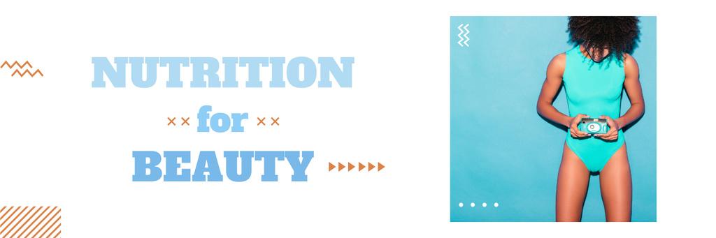 Nutrition for beauty banner — Créer un visuel