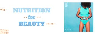 Nutrition for beauty banner