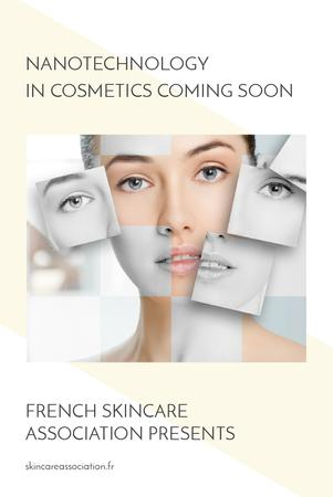 Skincare association website Ad Pinterest – шаблон для дизайна