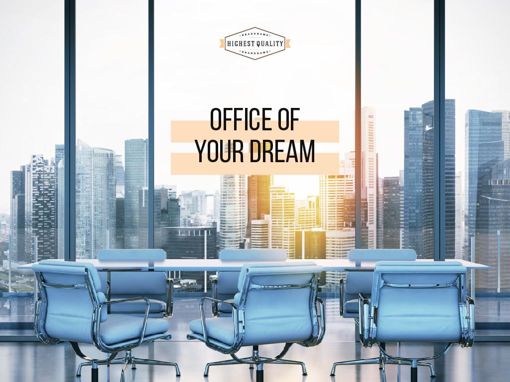 Office of your dream — Modelo de projeto
