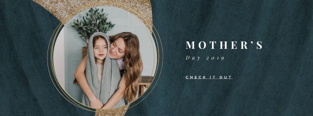 Child girl with her mother — ein Design erstellen