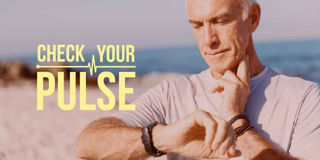 Check your pulse Ad with senior man — Crear un diseño