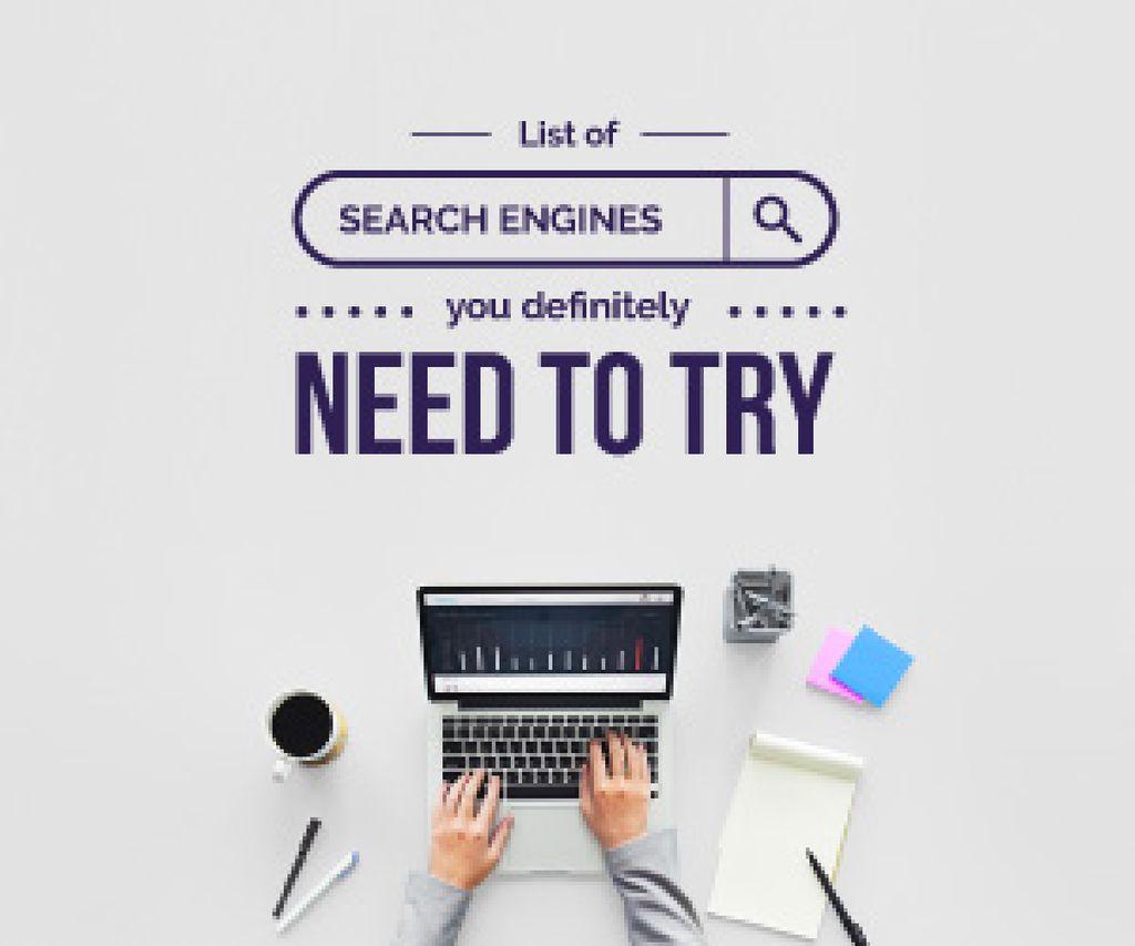 list of search engines poster — ein Design erstellen