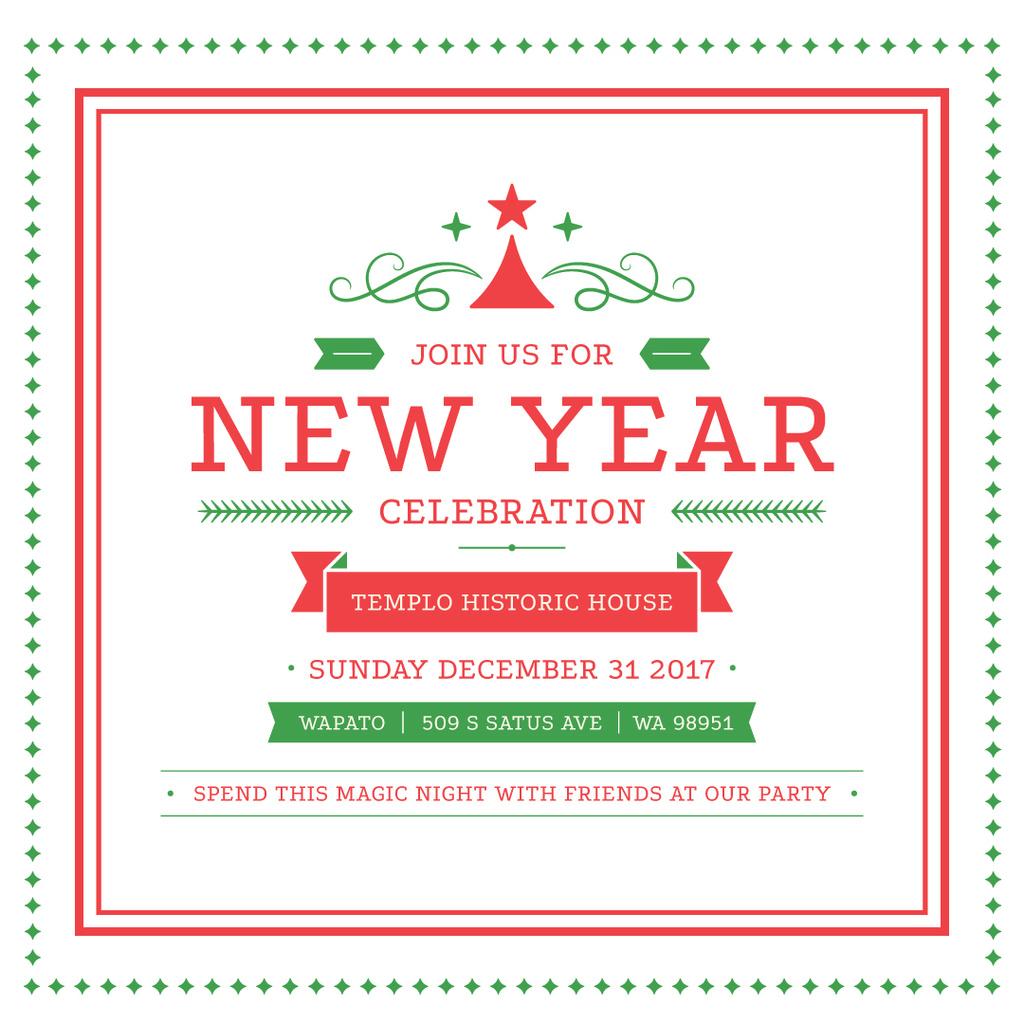 Christmas greeting card — Crear un diseño