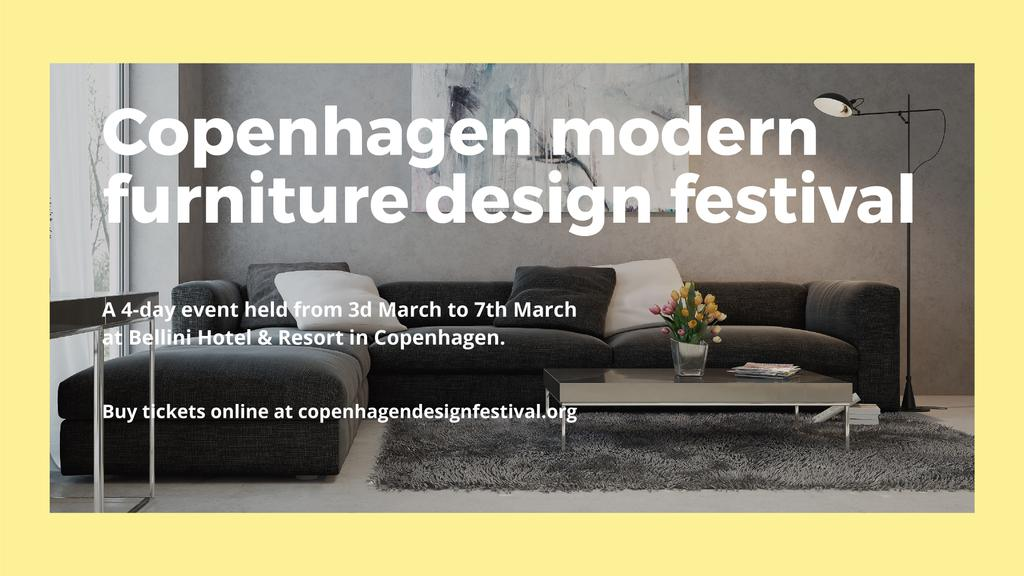 Modern furniture design festival — Crea un design