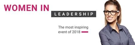 Ontwerpsjabloon van Twitter van Women in Leadership event