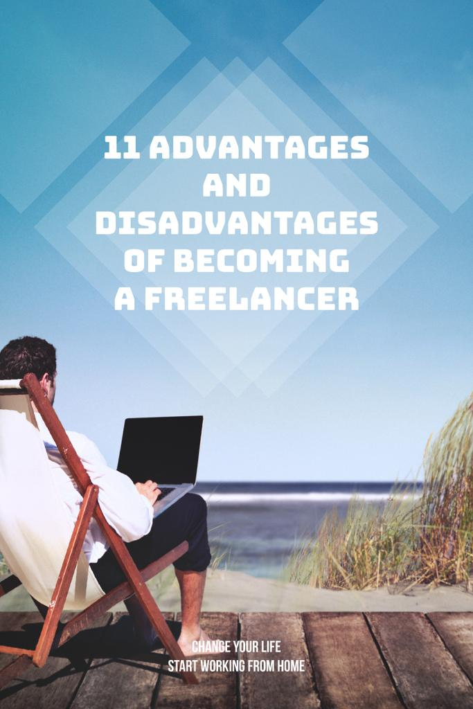 Disadvantages of becoming a freelancer — Modelo de projeto