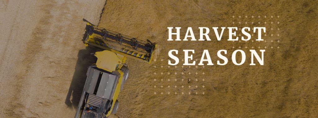 Harvest season poster — Modelo de projeto