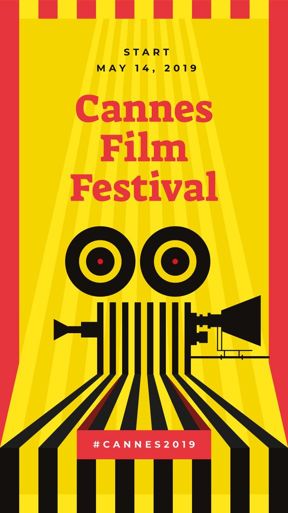 Cannes Film Festival poster — ein Design erstellen