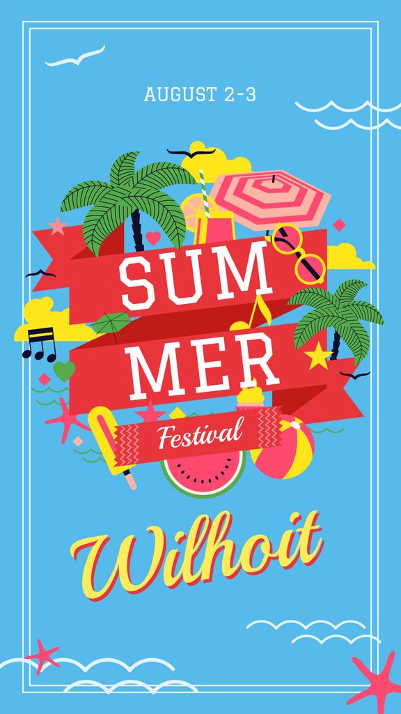 Summer fun attributes — Crea un design