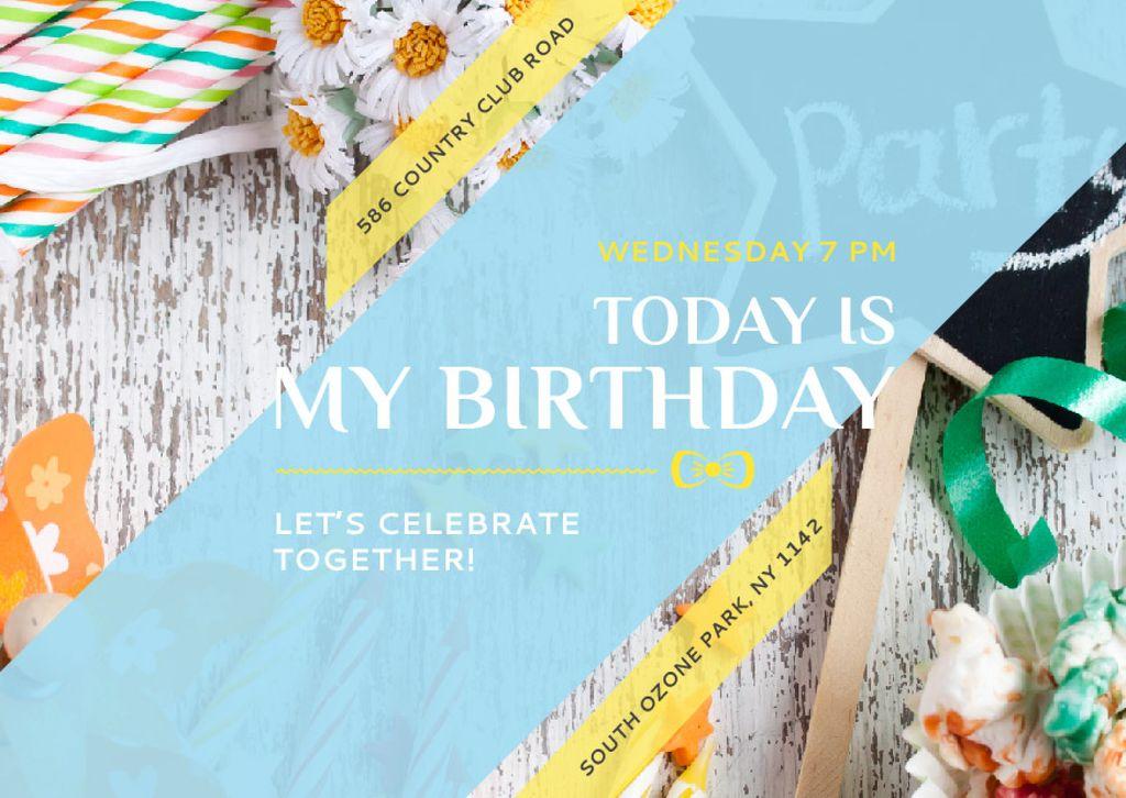 Birthday party in South Ozone park - Vytvořte návrh