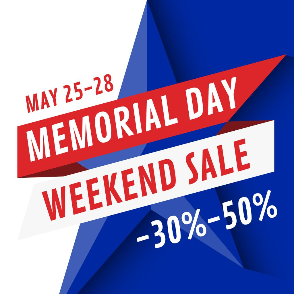 Memorial Day Weekend sale — Create a Design