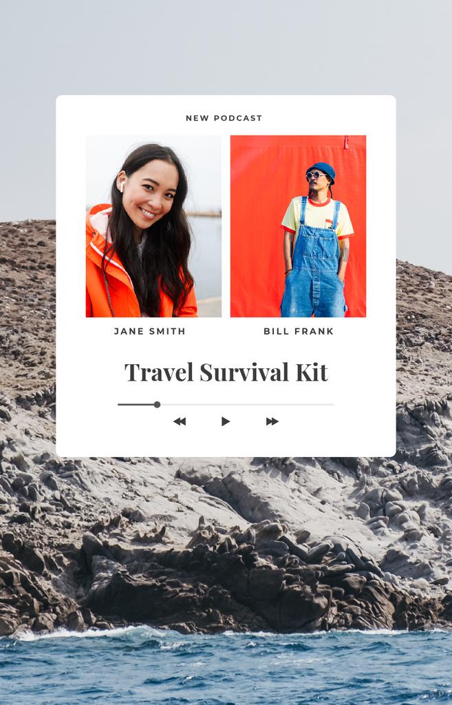 Travel Bloggers live stream IGTV Cover – шаблон для дизайну
