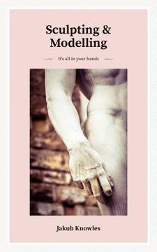 Hand of Marble Statue | eBook Template