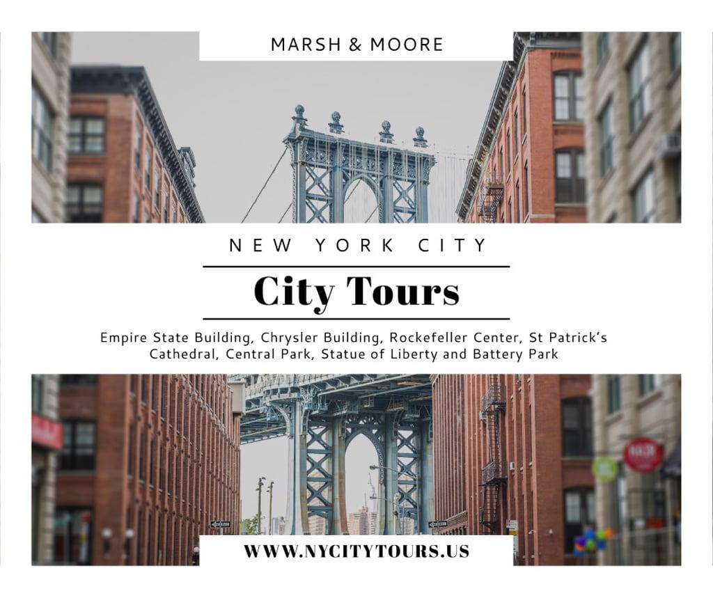 New York city tours advertisement – Stwórz projekt