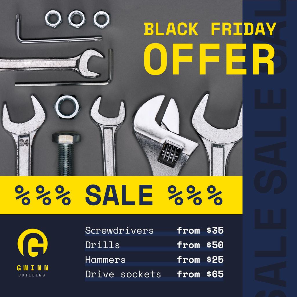 Black Friday Offer Repair Tools — Crea un design
