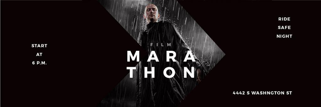 Film Marathon Annoucement — Crea un design