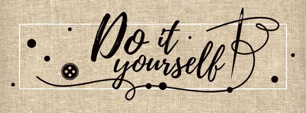 Do it yourself inspirational Quote — Maak een ontwerp