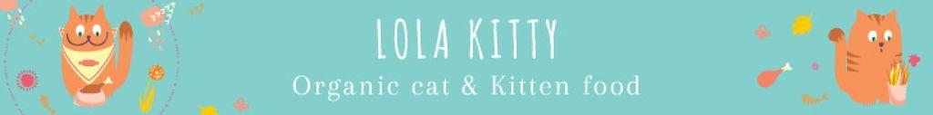Organic cat food banner — Создать дизайн