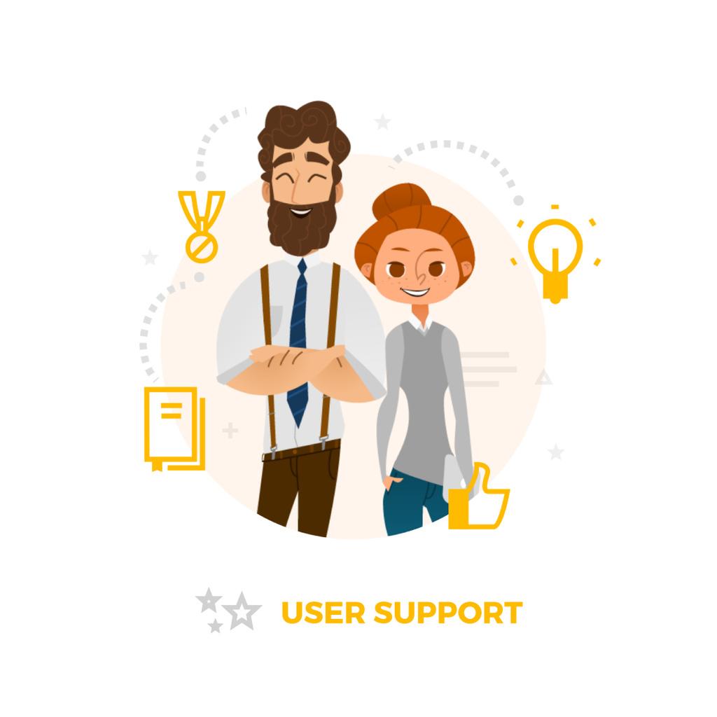 Successful business team — Crear un diseño