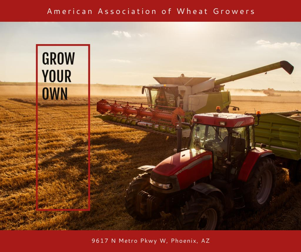 Association of Wheat growers poster — Crear un diseño