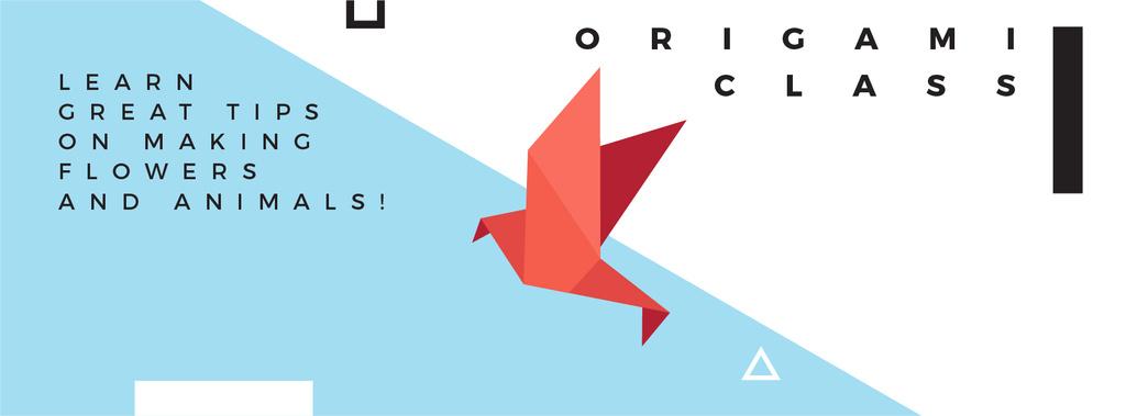 Origami class Invitation — Créer un visuel