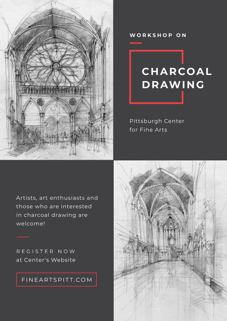Charcoal Drawing for Fine Arts — Maak een ontwerp