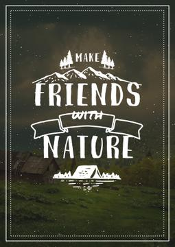 Make friends with Nature