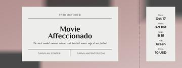 Movie Festival Announcement