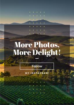 more photos, more delight text for instagram blog