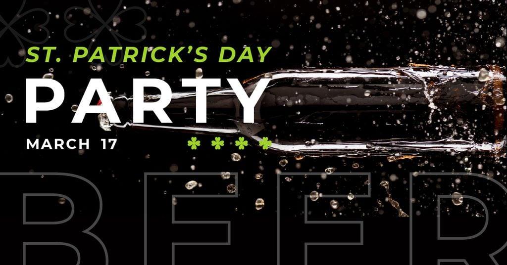 Invitation to Beer Party on St. Patricks Day — Maak een ontwerp