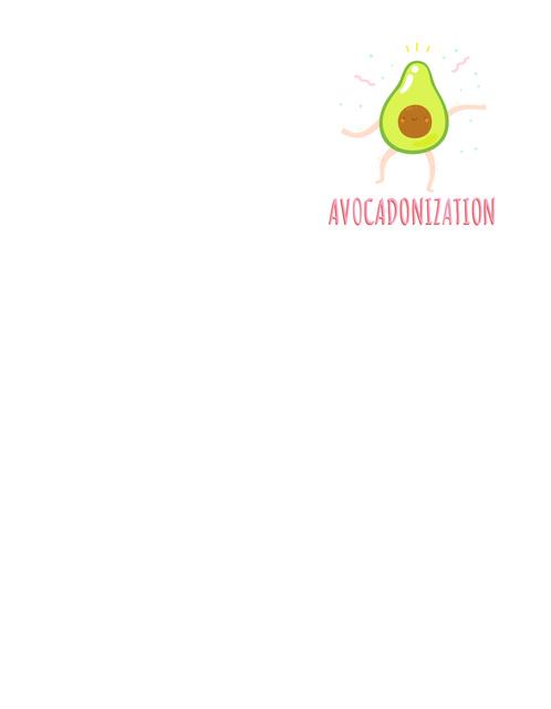 Ontwerpsjabloon van T-Shirt van Funny Dancing Avocado