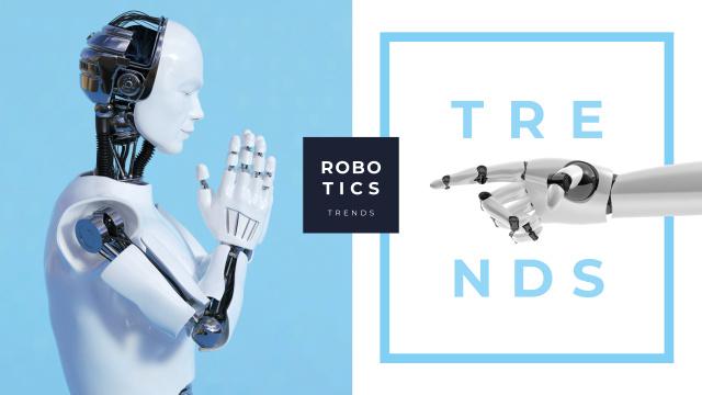Android robot model Youtube – шаблон для дизайна