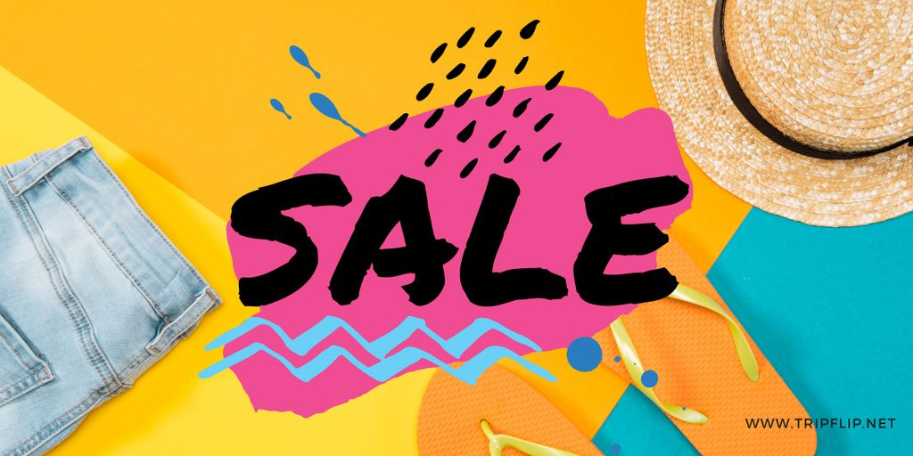 sale bright banner — Crea un design