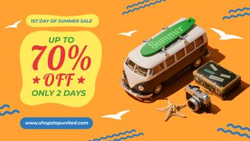 1st Day of Summer Sale Toy Van and Summer Essentials