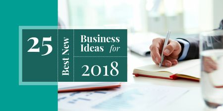 Plantilla de diseño de 25 best new business ideas for 2018 Image