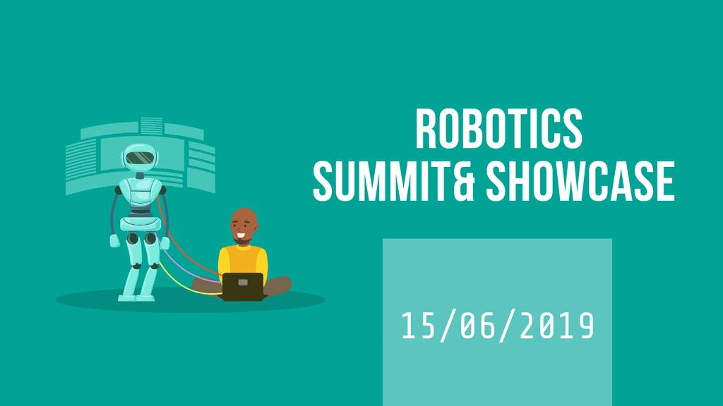 Robotics Summit Man Programming Robot —デザインを作成する