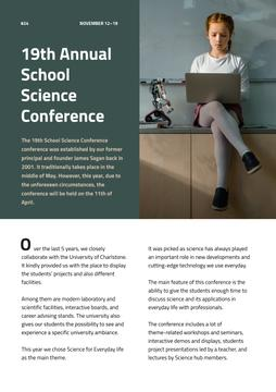 Annual School Science Conference