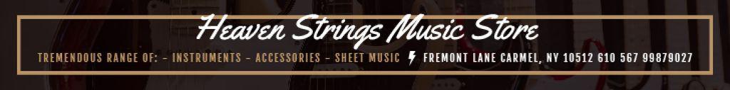 Heaven Strings Music Store — Create a Design