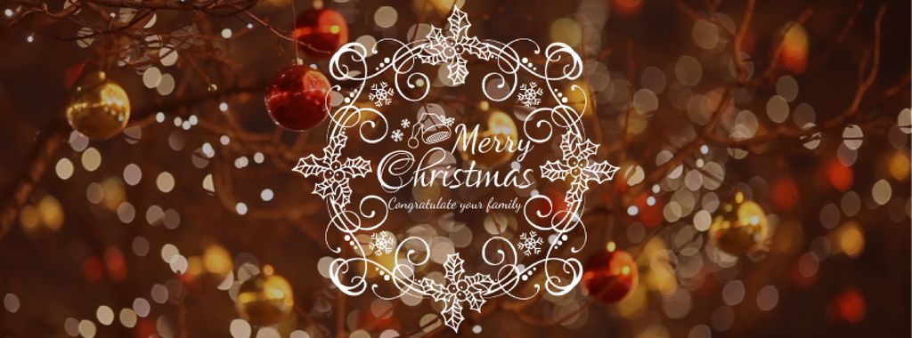 Shiny Christmas decorations — Crea un design