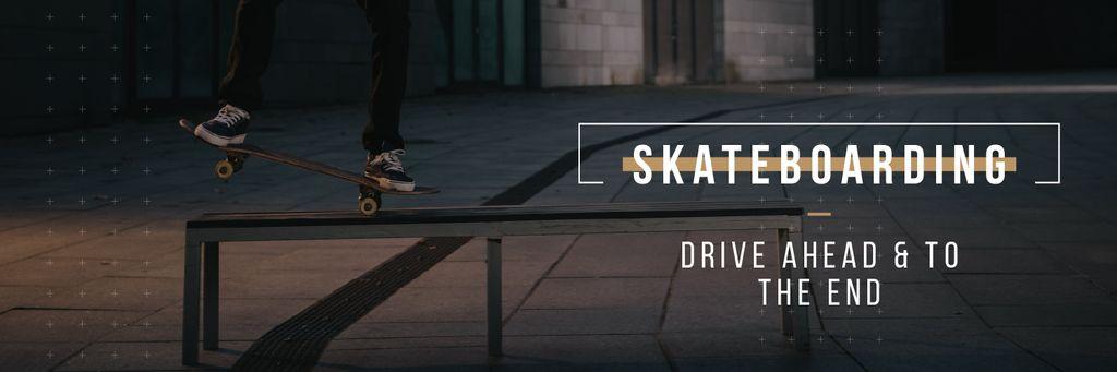 Young Man Riding Skateboard — Create a Design