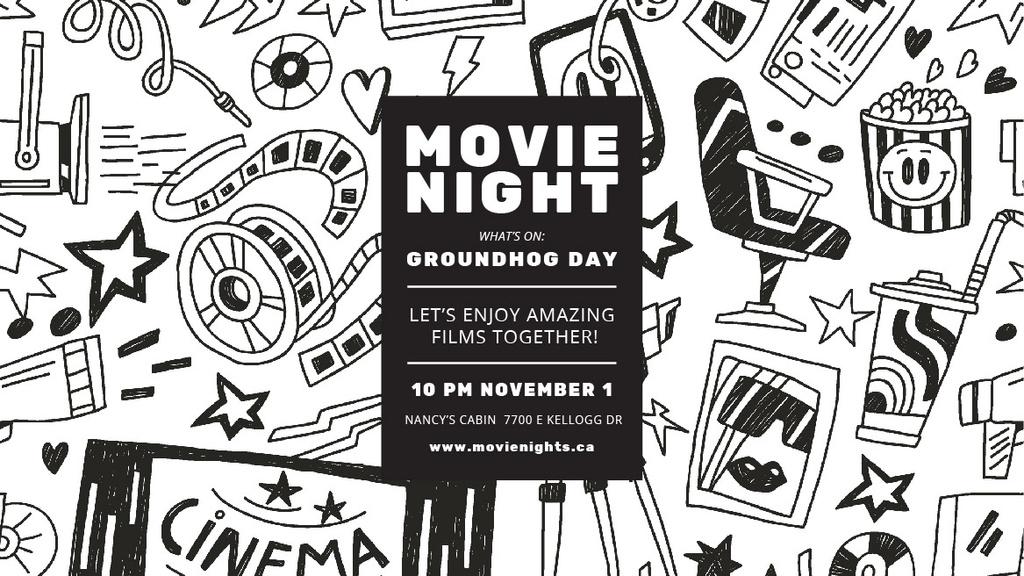 Movie night event — Створити дизайн