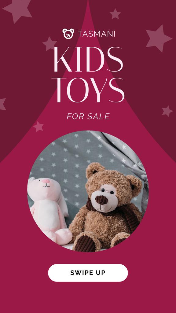 Sale Announcement Stuffed Toys — Создать дизайн